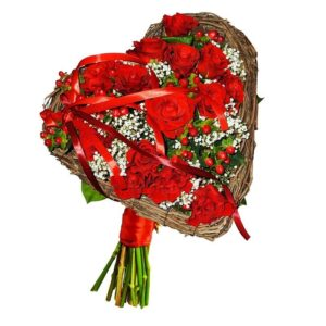 Kwiaty- Bukiet kwiatowe i love you