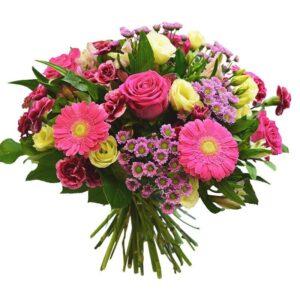 Kwiaty- Bukiet różowy blask