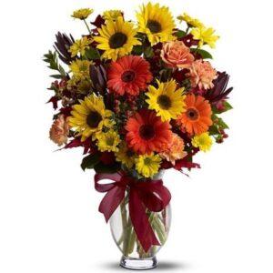 Kwiaty- Bukiet Mieszany Powiew Lata