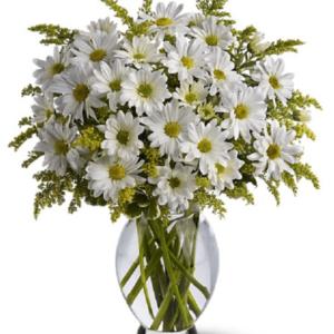 Kwiaty- Bukiet Mieszany Pełen Bieli