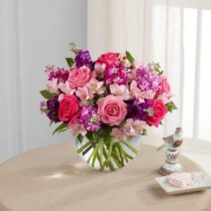 Kwiaty- Bukiet słodka świeżość+ czekoladki