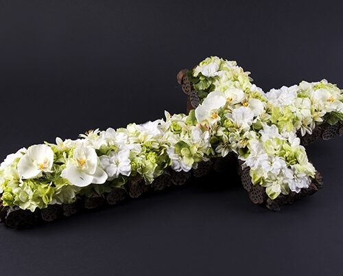 krzyz kwiatowy
