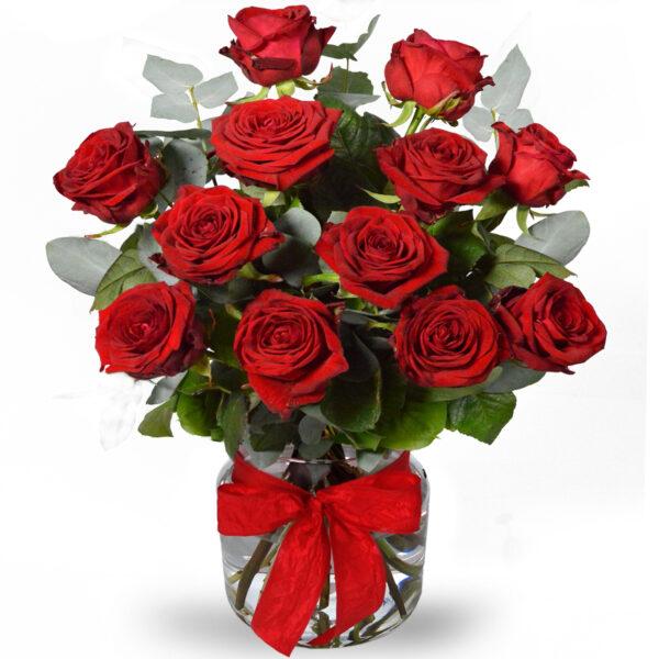 BUKIET 12 róż