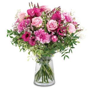 Bukiet różowe wariacje
