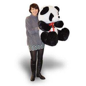 Panda Wielka z czerwoną kokardą