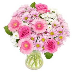 Bukiet Różane przywitanie