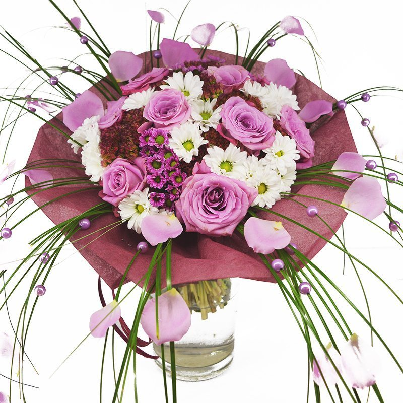 Kwiaty- Bukiet perła