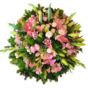 Okazje- Wieniec liliowe kondolencje