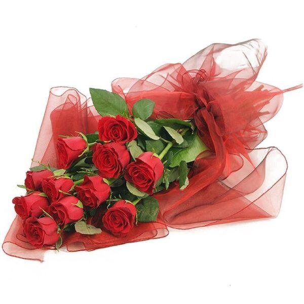 Kwiaty- Bukiet romantyczna przesyłka
