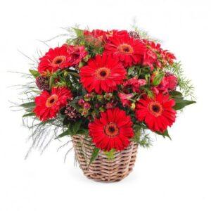 Kosze kwiatowe- kosz średni ledoux