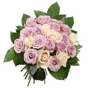 Kwiaty- pastelowe róże