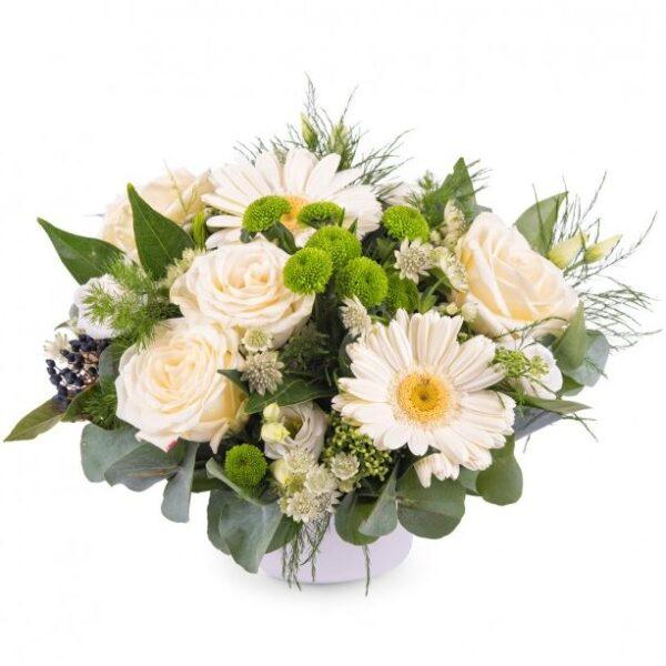 Kwiaty- Kompozycja niebiańska łąka