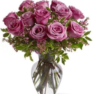 Kwiaty- Bukiet 13 Róż AQUA