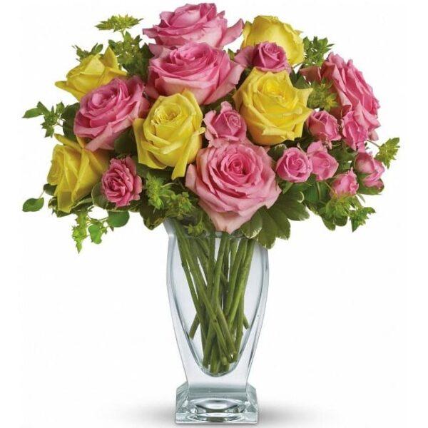 Kwiaty- Bukiet w objęciach