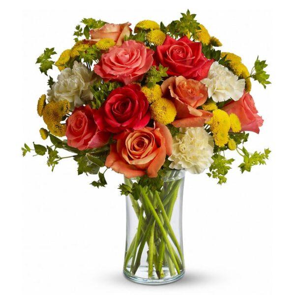 Kwiaty- Bukiet Niewinny Pocałunek