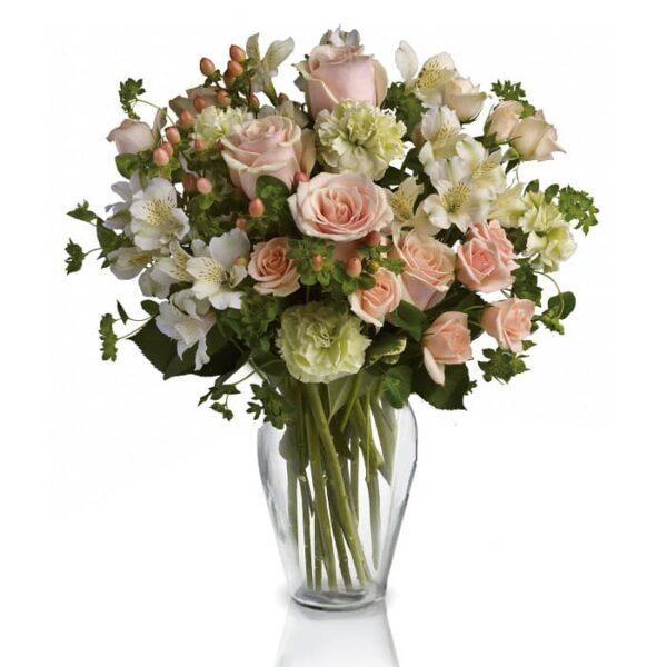 Kwiaty- Bukiet Mieszany Pastelowy