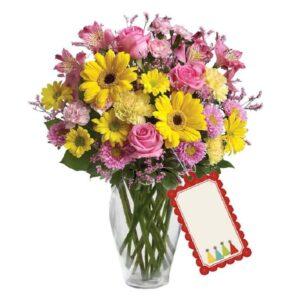 Kwiaty- Bukiet Mieszany Pełen Barw