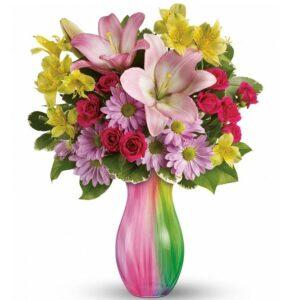 Kwiaty- Bukiet Mieszany Pełen Uczuć