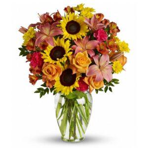 Kwiaty- Bukiet Namiętność o Poranku