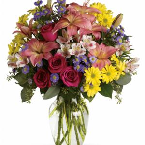 Kwiaty- Bukiet Pełen Różności