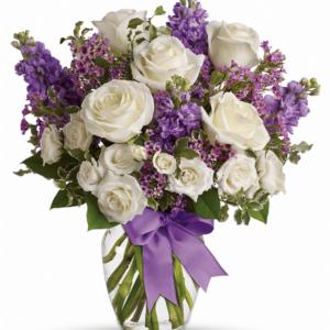 Kwiaty- Bukiet Niebiańska Miłość