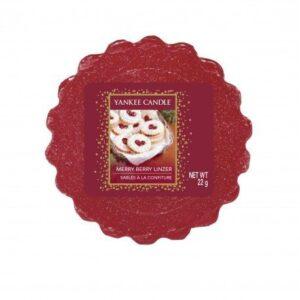 Prezenty- Wosk- merry berry linzer