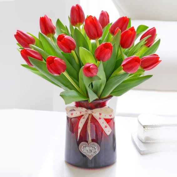 Kwiaty- Bukiet 15 tulipanów
