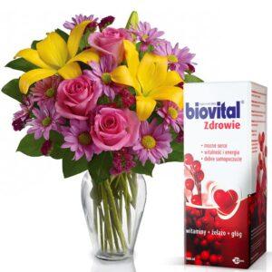 Kwiaty, okazje- Bukiet mieszany marzenie dla serca