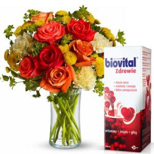 Kwiaty, okazje- Bukiet mieszany pełen barw dla serca