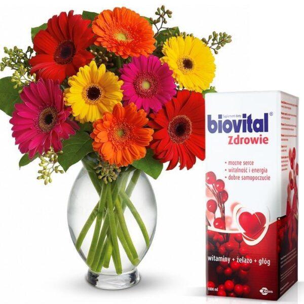 Okazje, Kwiaty- Bukiet Gerber Dla Babci i Dziadka