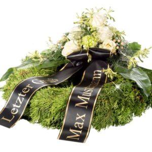 Okazje- Wieniec pogrzebowy z różami i goździkami