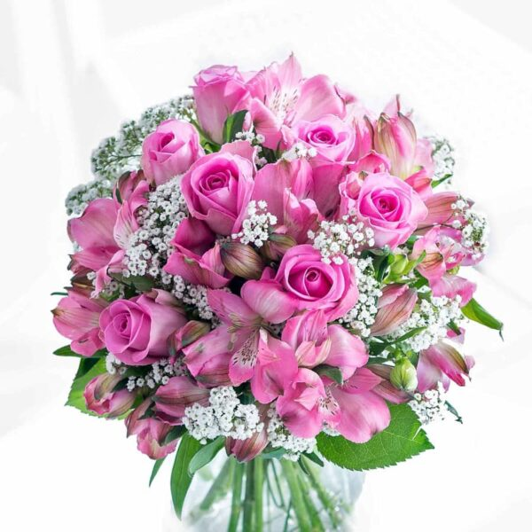 Kwiaty- Truskawkowy Sorbet