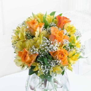 Kwiaty- Pomarańczowy Sorbet