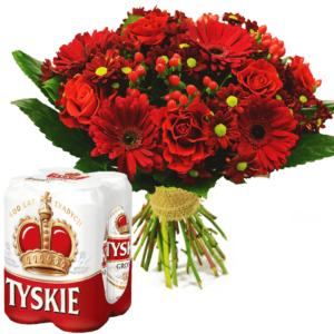 Kwiaty- Bukiet Pozdrowienia z Tych