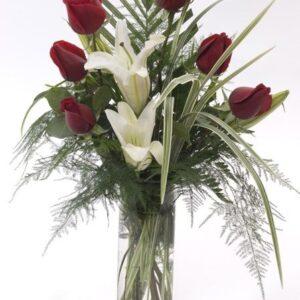Bukiet- Bukiet kwiatowa elegancja+ czekoladki