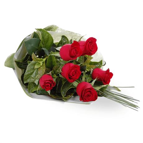 Zagranica- Szwecja- Kwiaty- Bukiet czerwonych róż