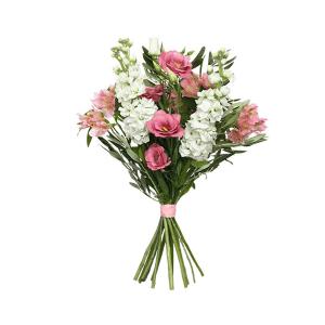 Zagranica- Szwecja- Kwiaty- Bukiet pastelowa rozmaitość