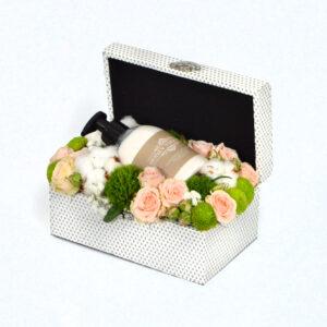 kufer kwiatów z balsamem Łysoń