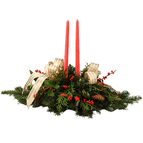 Stroik świąteczny akcent
