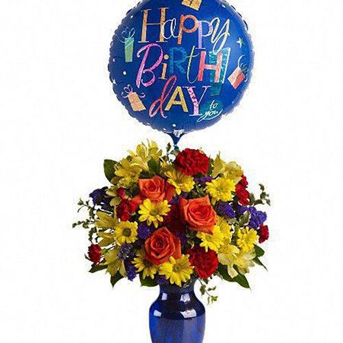 kwiaty na urodziny