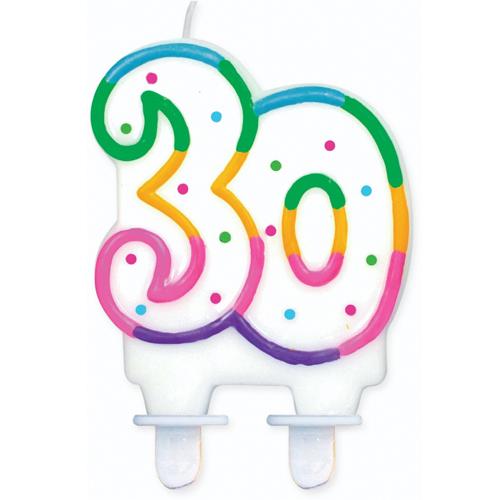 świeczka dekoracyjna 30