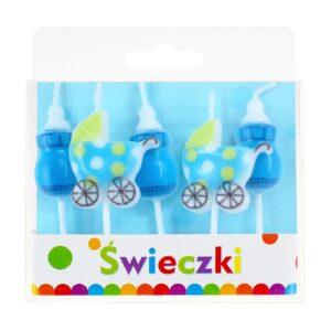 swieczki pikery blue baby