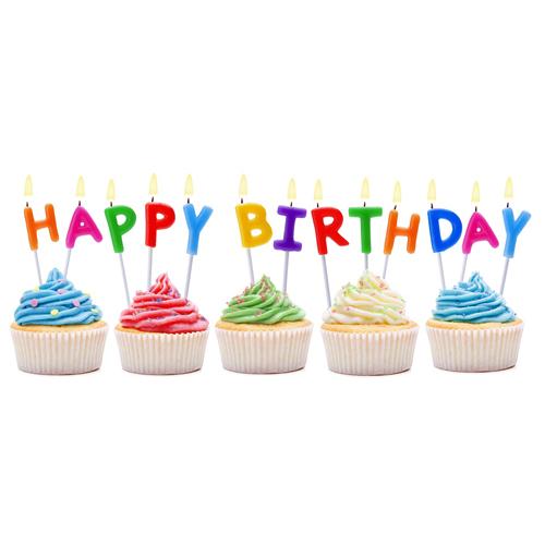 swieczki pikery literki happy birthday A