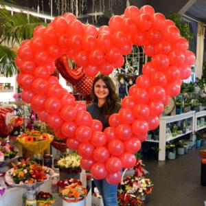 balonowe serce