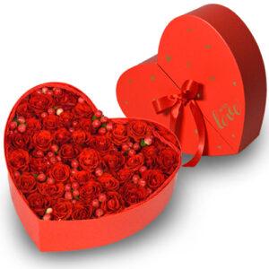 Serce różana niespodzianka