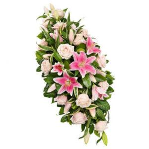 Różowa palma pogrzebowa